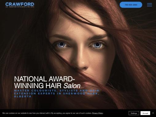 Hair Salon In Fort Saskatchewan – Crawford Master Stylists