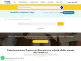 Bioengineering Textbook Solution Manuals