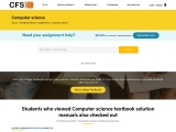 Computer Science Solution Manuals