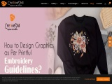 Printful Embroidery Guidelines To Design Graphics | Cre8iveSkill
