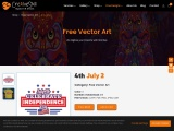 Free Vector Design | 4th  July  Independence Day  | Cre8iveskill