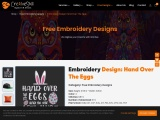 Easter Hand Over The Eggs   Embroidery Digitizing   Cre8iveskill