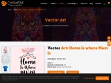 vector Artwork Design Home is where Mom Is  | Cre8iveSkill