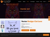 Cat Vector Conversion Design By Cre8iveSkill