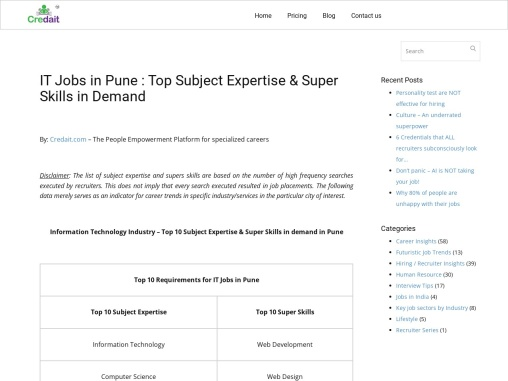 IT Jobs in Pune   Software Developer Jobs in Pune   Testing Jobs