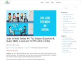 HR Jobs in India | Human Resources Jobs in India | Credait