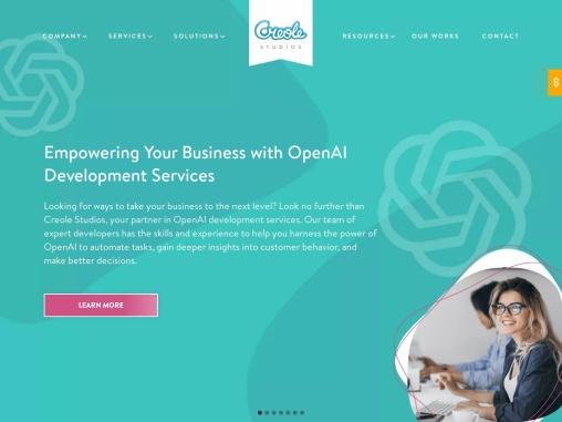 Creole Studios – Web and Mobile App Development Company