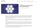 All You Need to Know about Partner Relationship Management