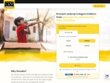 Donate For Children and Support Rug Republic and CRY