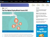 Top Five Highest Paying Bitcoin Faucets 2020