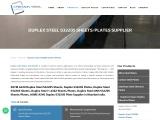 ASTM A240 Duplex Steel S32205 Sheet Supplier
