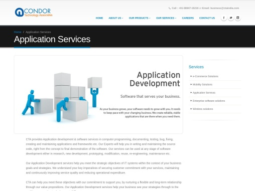 application services in Chennai India