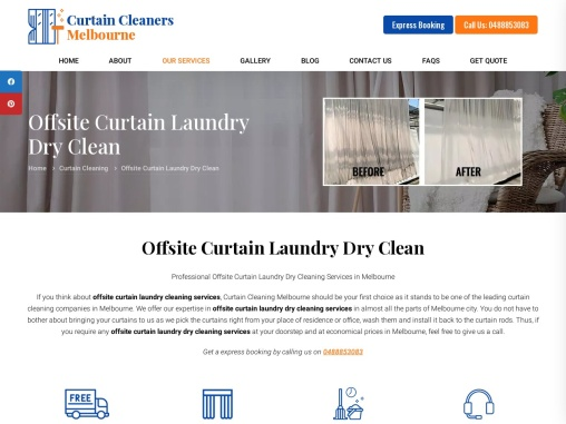 Professional Curtain Dry Cleaning Services in Melbourne – Curtain Cleaners Melbourne