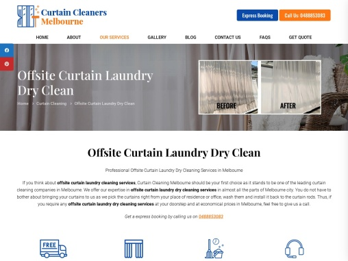Dry Cleaning Services in melbourne