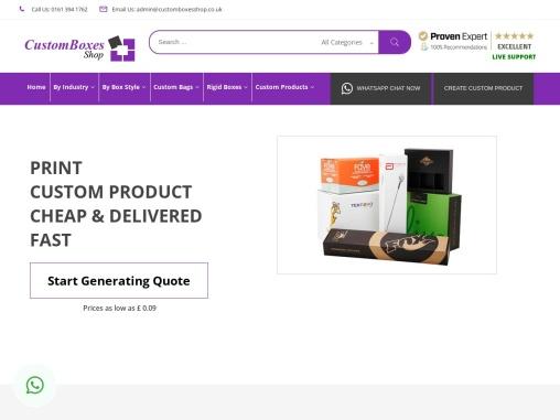 Buy Custom Boxes   Custom Packaging Online   Custom Printed Boxes