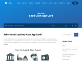 Where can I Load my Cash App Card? Simple Ways To Load