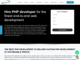 Hire PHP Developers & Dedicated PHP Programmers