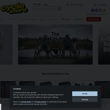 Free UK delivery on orders over £10 at Cyclestore