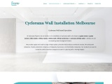 Cyclorama Wall Installation Melbourne | Cyclorama Projects