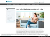 How to find the best air conditioner in India