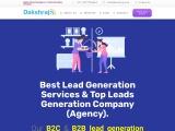 Lead Generation Services- B2C & B2B Leads Generation Company