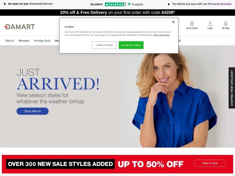 Damart Free Delivery screenshot