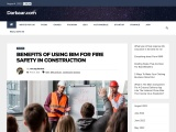 Benefits of using BIM for Fire Safety in Construction