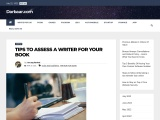 TIPS TO ASSESS A WRITER FOR YOUR BOOK