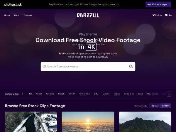 Dareful - 15 Best Websites to Download Free Stock Footage (2020)