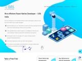 Hire offshore React Native Developer – USA India