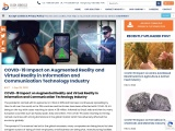 COVID-19 Impact on Augmented Reality and Virtual Reality in Information and Communication Technology
