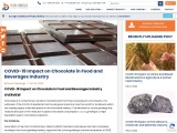 COVID-19 Impact on Chocolate in Food and Beverages Industry