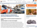 COVID-19 Impact on Global Smart Manufacturing Market in ICT Industry