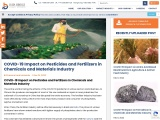 COVID-19 Impact on Pesticides and Fertilizers in Chemicals and Materials Industry