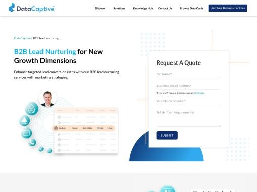 B2B Lead Nurturing Services in USA