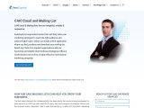 CAIO Email List | Chief Artificial Intelligence Officers Mailing Database