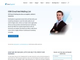 Targeted CBO Email List | CBO Mailing Address Database
