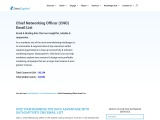 Chief Networking Officer Email List | CNO Mailing Database
