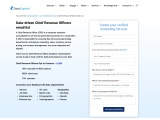 Chief Revenue Officers Email List | Chief Revenue Officer Mail Address