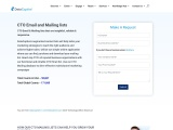 CTO Email List | Targeted  B2B Mailing Database