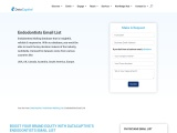 Best Endodontists Email List   Endodontist Mailing Database   DataCaptive