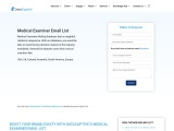 Looking For Best Medical  Examiner Email List -DataCaptive