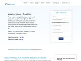 Aviation Industry Email List | Aviation Industries Mailing Database