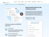 Beauty Industry Email List | Beauty Industry Mailing Database