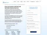 Call Center Industry Email list | Call Center Mailing Database | Datacaptive