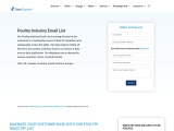 Poultry Industry Email List | Poultry Industry Database | Datacaptive