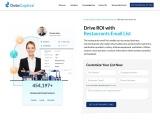Restaurants Email List | Restaurant Mailing Database | DataCaptive