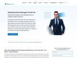 Administrative Manager Email List | Administrative Manager Database