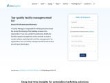 Facility Managers Email List | Facility Directors Mailing Address