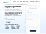 Accommodation and Food Services Email List   Food Services Database